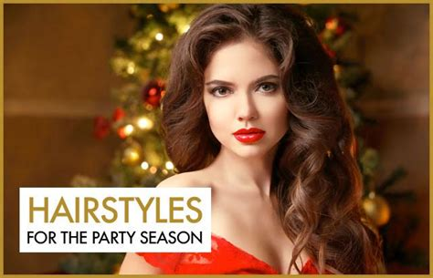 Hairstyles For The Party Season | hairstyles for the party season hairtrade blog