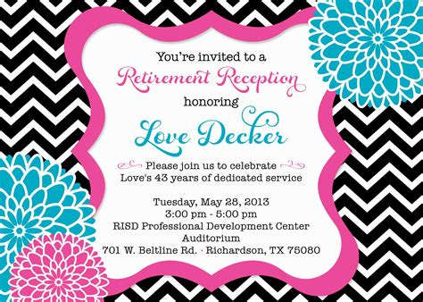 retirement party invitation wording party invitations