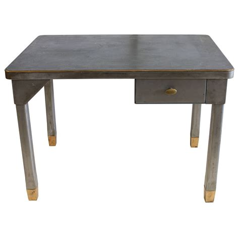 vintage industrial metal desk at 1stdibs