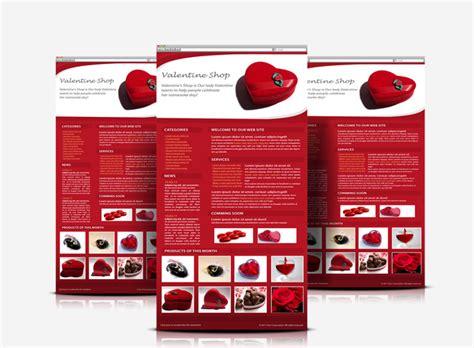 valentines newsletter valentines day e newsletter graphicriver web elements