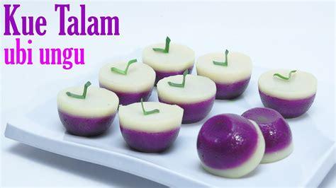 cara membuat warna ungu alami cara membuat kue talam ubi ungu youtube