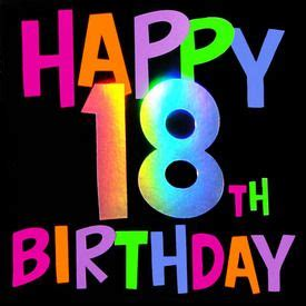 Happy 18th Birthday Wishes 1000 Images About Birthday On Pinterest Happy Birthday