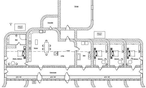 earthship home floor plans earthship floor plan ideas floor plan of zero energy use