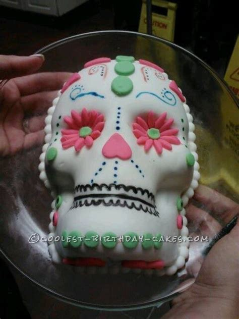 Skull Decorations For The Home by Cool Sugar Skull Cake