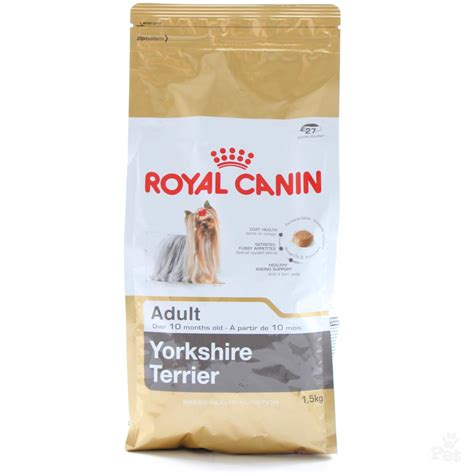 yorkie puppy treats royal canin terrier food