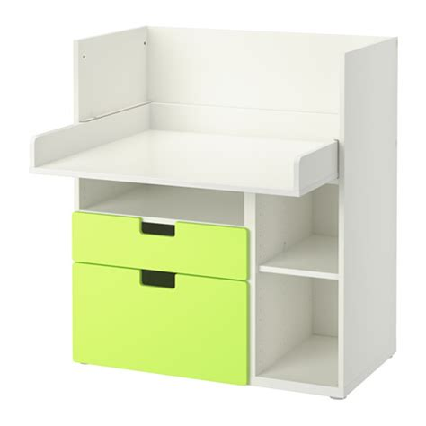 white desk with drawers ikea stuva desk with 2 drawers white green ikea