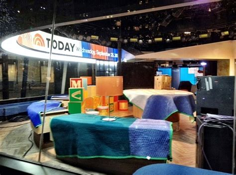 today show set today yesterday
