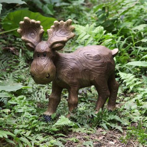 mainstays 13 5 quot medium moose lawn ornament walmart ca
