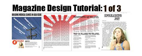 in design article layout 20 indesign tutorials for magazine and layout design