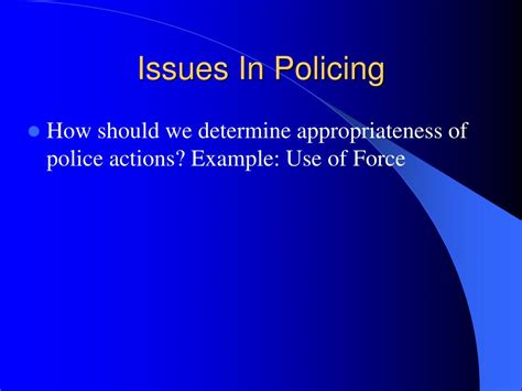 title 42 usc section 1983 ppt the police and law enforcement powerpoint
