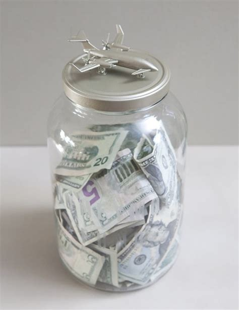 DIY   Jars, Honeymoon fund and Savings accounts