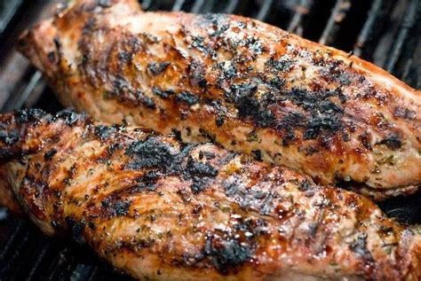 garlic and rosemary pork tenderloin recipe grilling companion