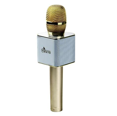 Mic Karaoke Ktv Q9 Bluetooth Wireless Microphone q9 wireless karaoke handheld microphone usb ktv player bluetooth mic speaker ebay