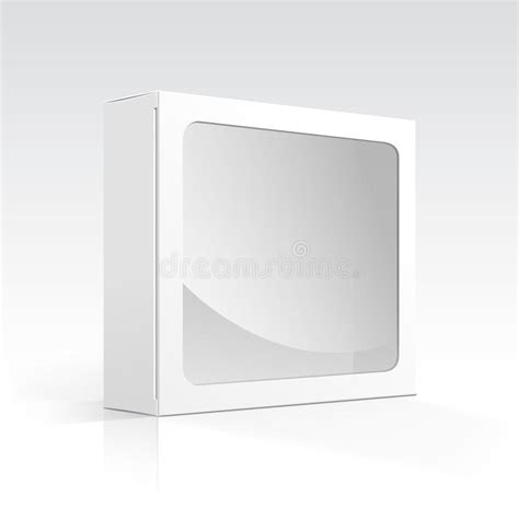 does eps format support transparency vector blank box with transparent window royalty free