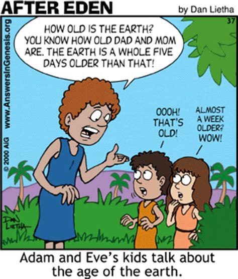 Power Bible Comic 4 after creation christian humor humor