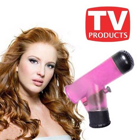 Sale Wind Spin Easy Curl Corong Hairdryer Pengeriting Rambut jual beli wind spin easy curl corong hairdryer