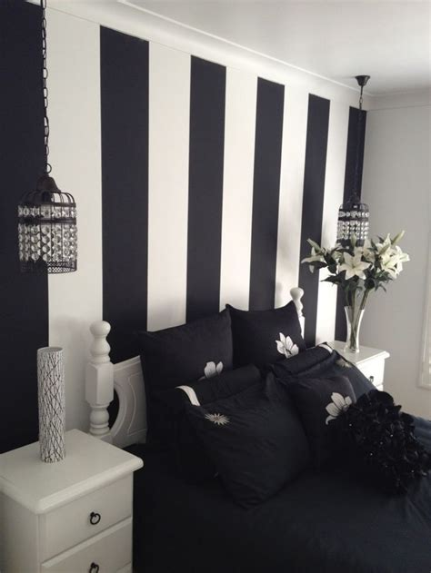 black wall paint best 25 striped painted walls ideas on pinterest