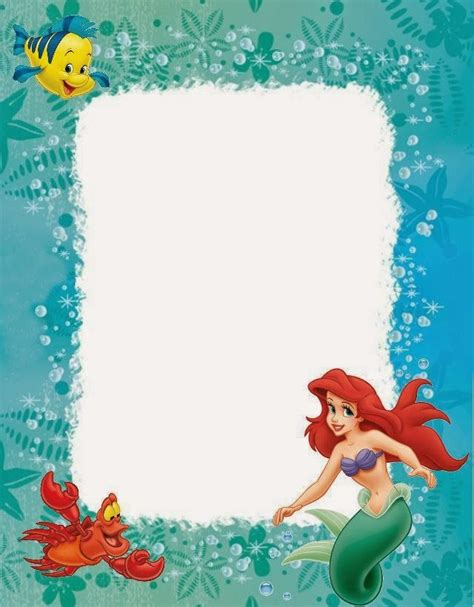 little mermaid free printables is it for parties is it