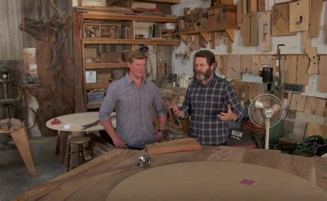 nick offermans private woodworking shop