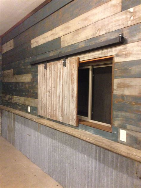 Sweet And Spicy Bacon Wrapped Chicken Tenders Barn Wood Barn Door Wall