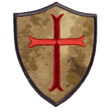 crusader cross tattoo crusader templar cross a tacs au embroidered navy seals
