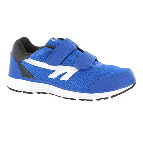 boys velcro athletic shoes hi tec pajo ez boys velcro running shoes