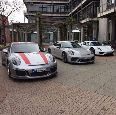 fashion grey porsche fashion grey 2018 porsche 911 gt3 meets 918 911 r in