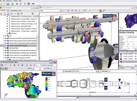 gear layout software romax releases new tools for gears and bearings design