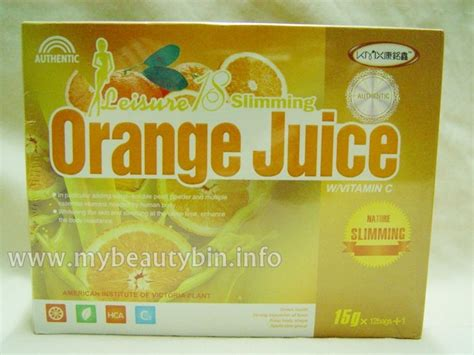 New California Detox by 8 Boxes New Leisure 18 Slimming Orange Juice Weight Loss