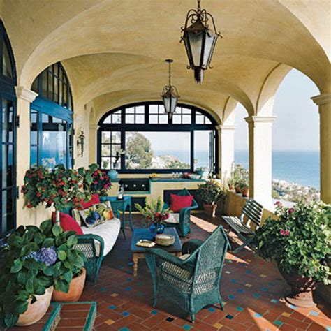 mediterranean furniture style mediterranean patios pergolas stucco terraces water