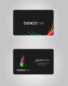 business cards with my logo banicci logo and business card by mauricioestrella on