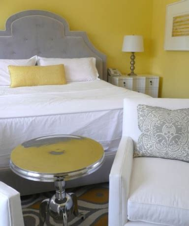 Gray Yellow Walls by Gray Furniture Yellow Walls Room Ideas