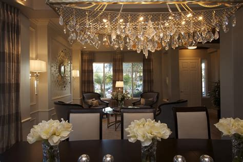glamorous dining rooms glamorous modern dining room robeson design