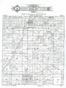 shelby county iowa 1911 atlas plat maps shelby township