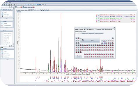 xrd pattern analysis software free download diffrac suite eva phase analysis xrd software x ray