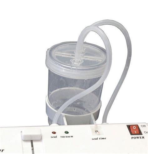 vacuum sealer for mylar bags foil bags or smooth vacuum