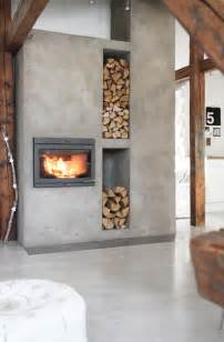 Nice Wall Decor 25 Cool Firewood Storage Designs For Modern Homes