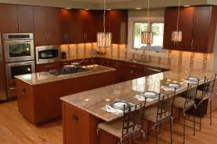 U Shaped Kitchen Design With Island U Shaped Kitchen Layout With Island Home Design Blog