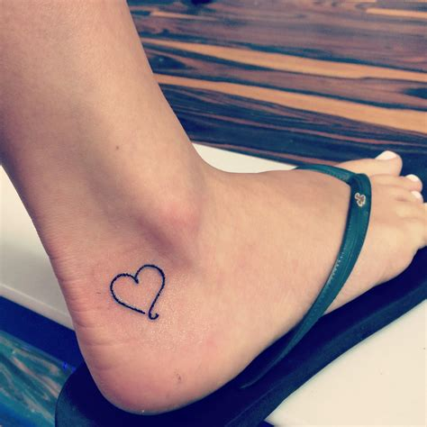 pinterest tattoo ideas small small heart ankle tattoo tattoo ideas pinterest