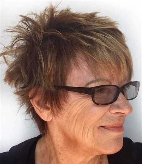 messy haircuts for women over 50 15 short hairstyles for women over 50