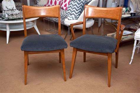 Heywood Wakefield Dining Room Set Value Set Of 6 Heywood Wakefield Dining Chairs At 1stdibs