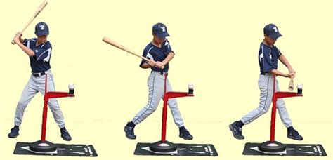 how to swing a baseball bat step by step advanced skills tee