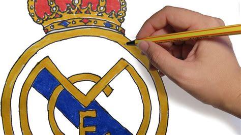 imagenes de niños del real madrid como dibujar el escudo del real madrid facil paso a paso