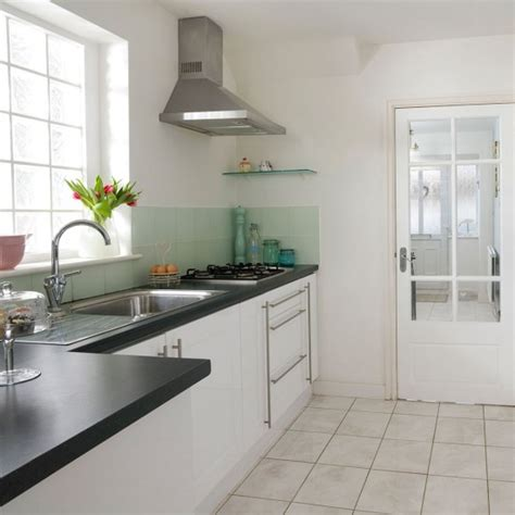 extractor over island google search mint green living modern family kitchen with pastel accents housetohome co uk