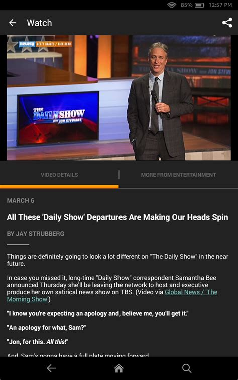 amazon news amazon com newsy video news appstore for android