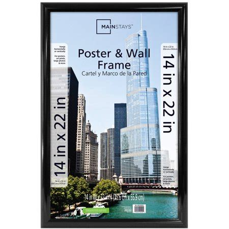 21 X 34 Poster Frame by Mainstays 14x22 Trendsetter Poster And Picture Frame
