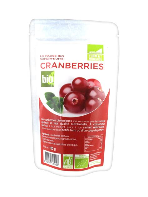 Cranberry 100g exopharm organic cranberries 100g buy at low price here