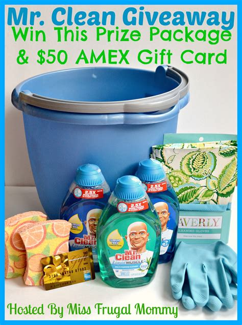 Mr Giveaway - crazy couponing mr clean giveaway