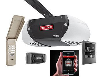 Wifi Garage Door Options Postscapes Craftsman Garage Door Opener Iphone