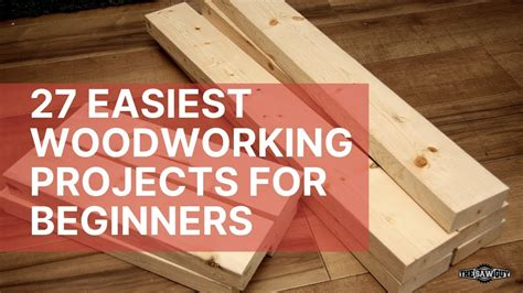 easiest woodworking projects  beginners youtube